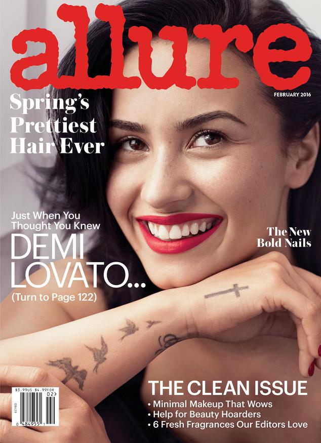 Demi Lovato, Allure