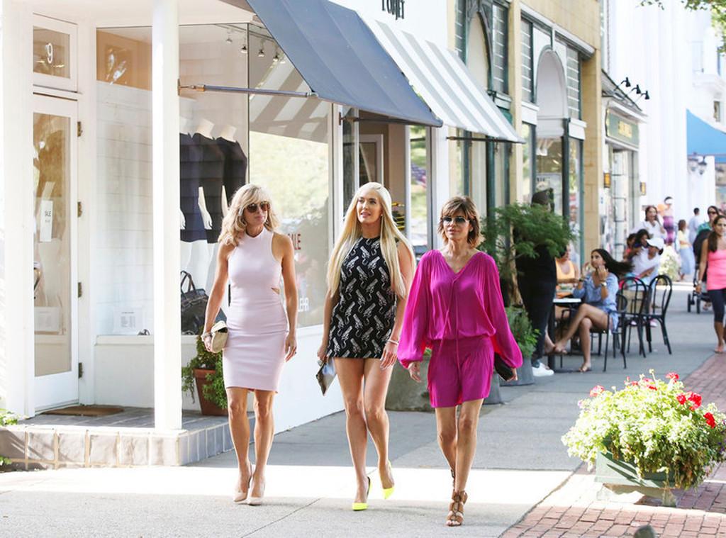 Eileen Davidson, Erika Girardi, Lisa Rinna, Real Housewives of Beverly Hills