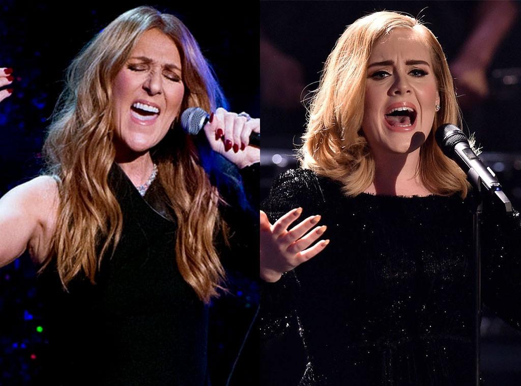 Adele, Celine Dion