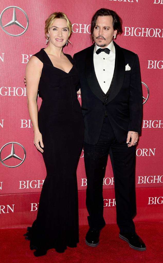 Kate Winslet, Johnny Depp, Palm Springs International Film Festival