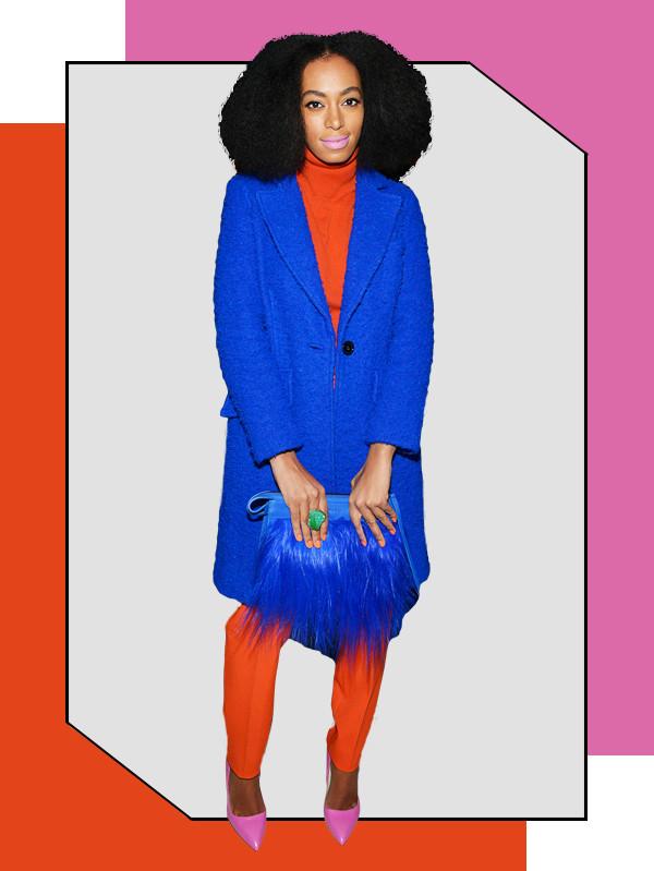 ESC, Tricky Color Combos, Solange Knowles