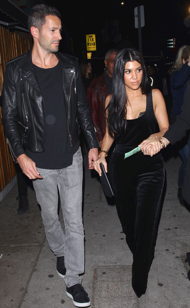 Kourtney Kardashian, Mystery Man