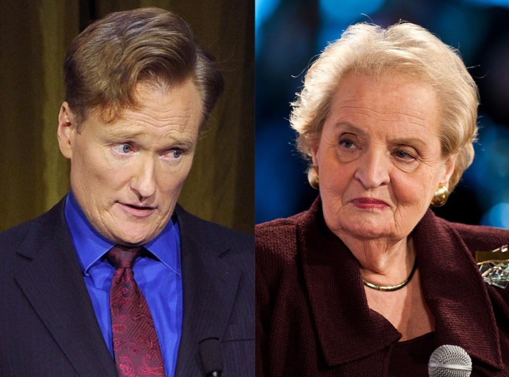 Conan O'Brien, Madeleine Albright