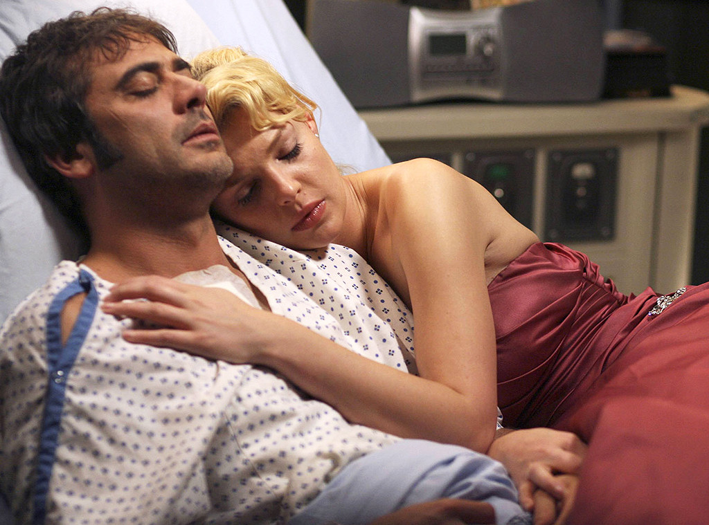Jeffrey Dean Morgan, Katherine Heigl, Grey's Anatomy