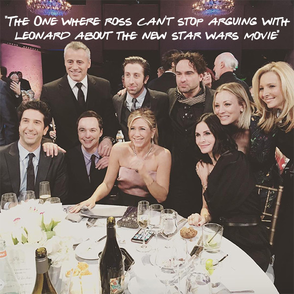 Friends Episode Titles, Reunion Photo