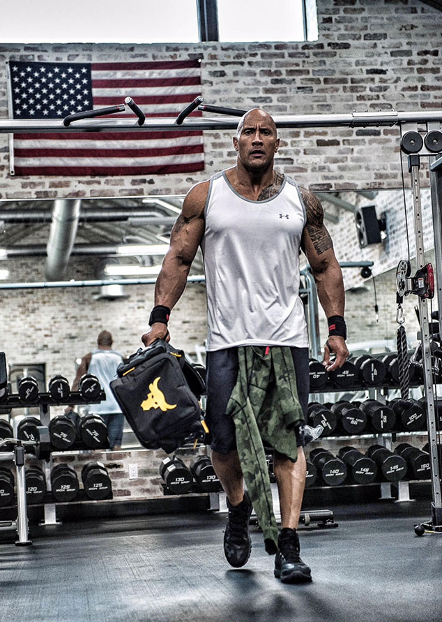 a69c12df Dwayne The Rock Johnson's New Under Armour Ad Will Have You ...