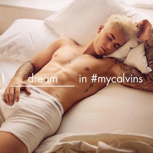 Justin Bieber, Calvin Klein Ad