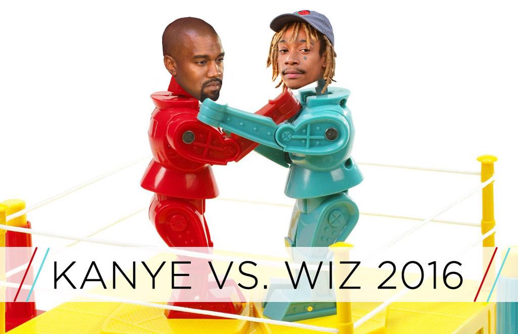 Kanye West vs Wiz Khalifa