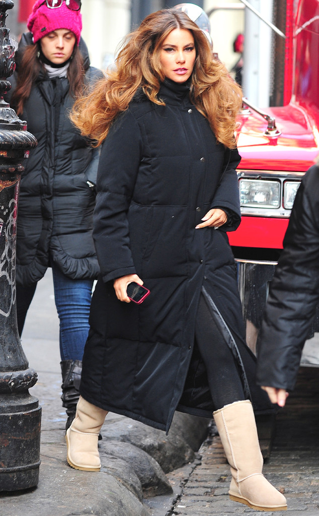 Sofia Vergara, Rise and Fall of the Ugg Boot