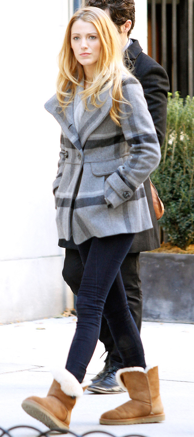 Blake Lively, Rise and Fall of the Ugg Boot
