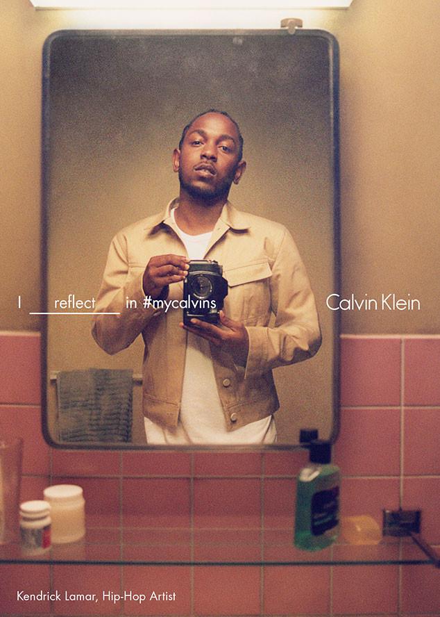 Kendrick Lamar, Calvin Klein Spring Ad