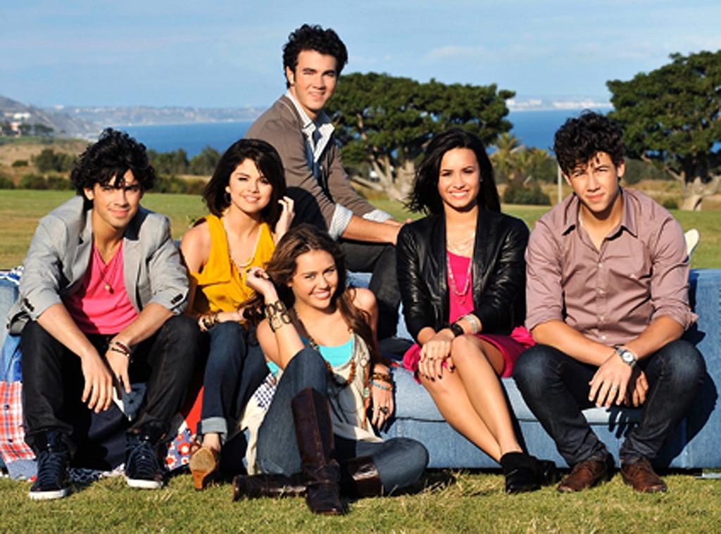 Jonas Brothers, Miley Cyrus, Selena Gomez, Demi Lovato