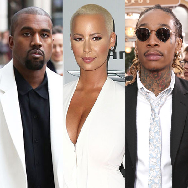 78349b580 Amber Rose Says She Was Never in Love With Kanye West