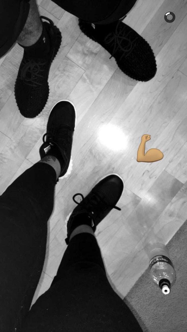 Blac Chyna, Rob Kardashian, Snapchat