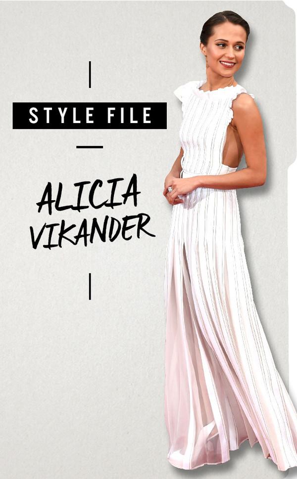 ESC, Alicia Vikander, Style File