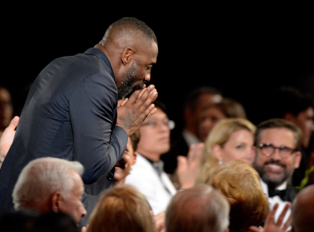Idris Elba, SAG Awards 2016, Candids