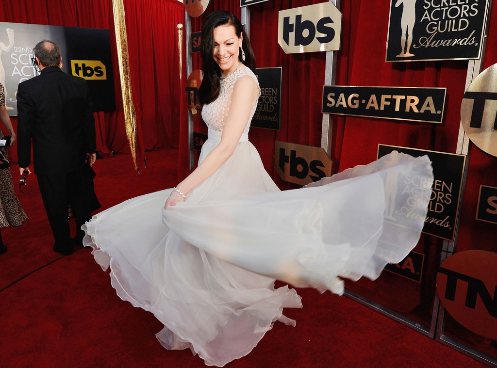 Laura Prepon, SAG Awards 2016, Candids