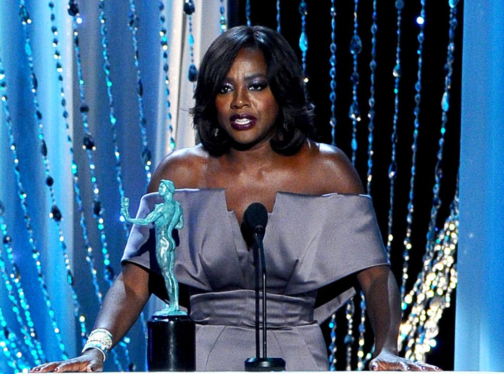 Viola Davis, SAG Awards 2016, Winners