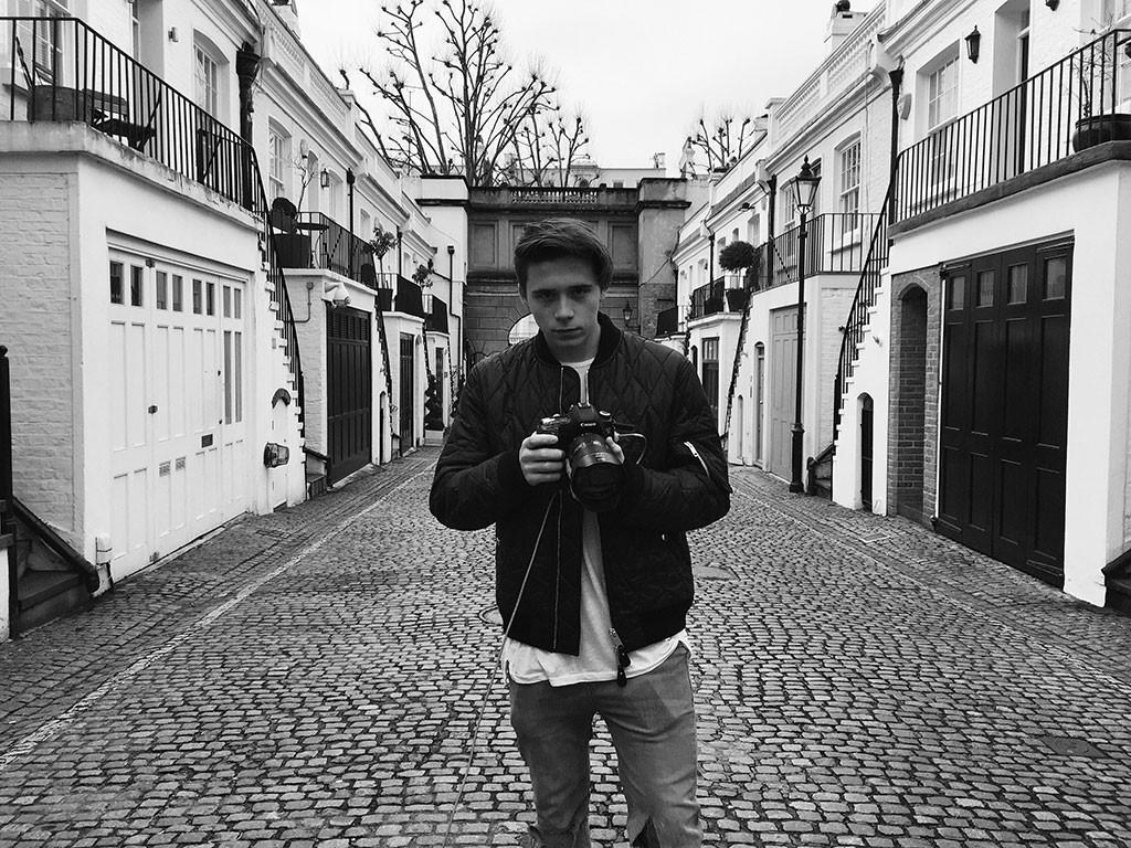 Brooklyn Beckham, Photographer, Burberry