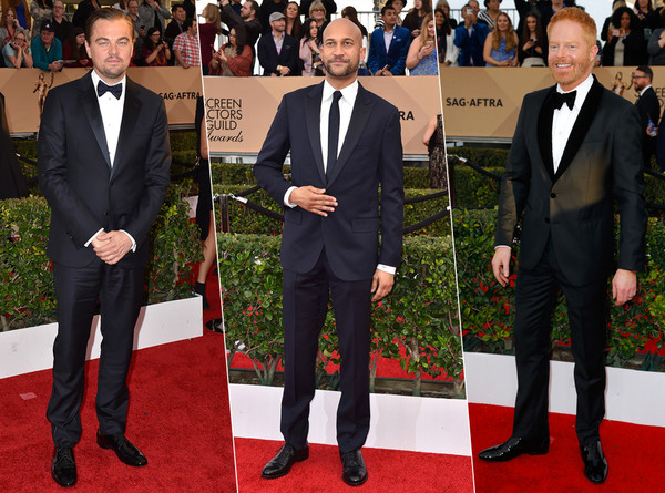 Best Dressed Mens Split SAG awards 2016