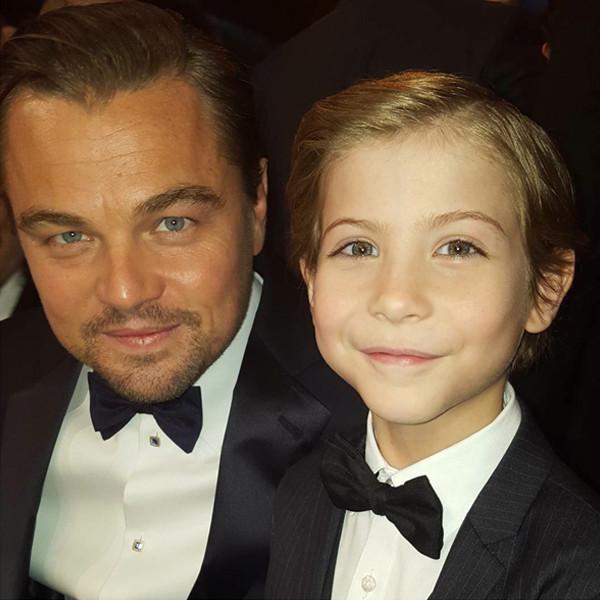 Leonardo DiCapro, Jacob Tremblay. SAG Awards 2016