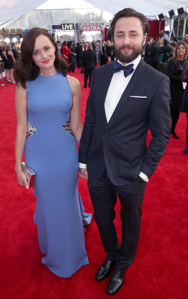 Alexis Bledel, Vincent Kartheiser, SAG Awards 2016, Couples