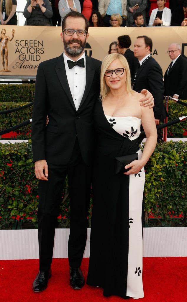 Eric White, Patricia Arquette, SAG Awards 2016, Couples