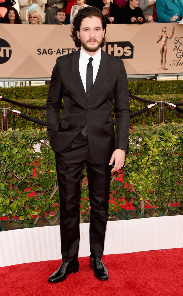 Kit Harington, SAG Awards 2016, Arrivals