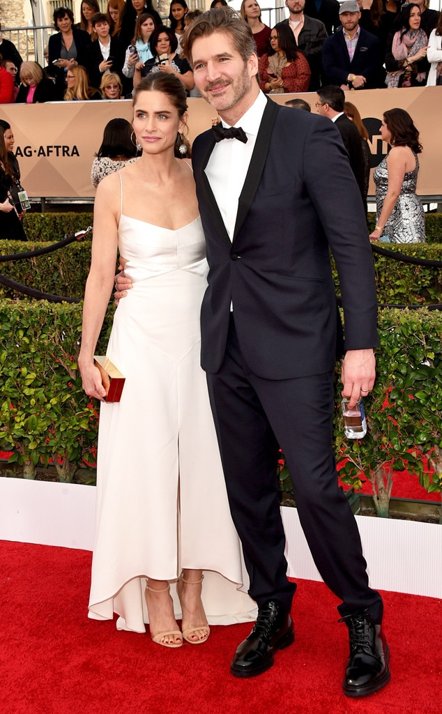 Amanda Peet, David Benioff, SAG Awards 2016, Couples