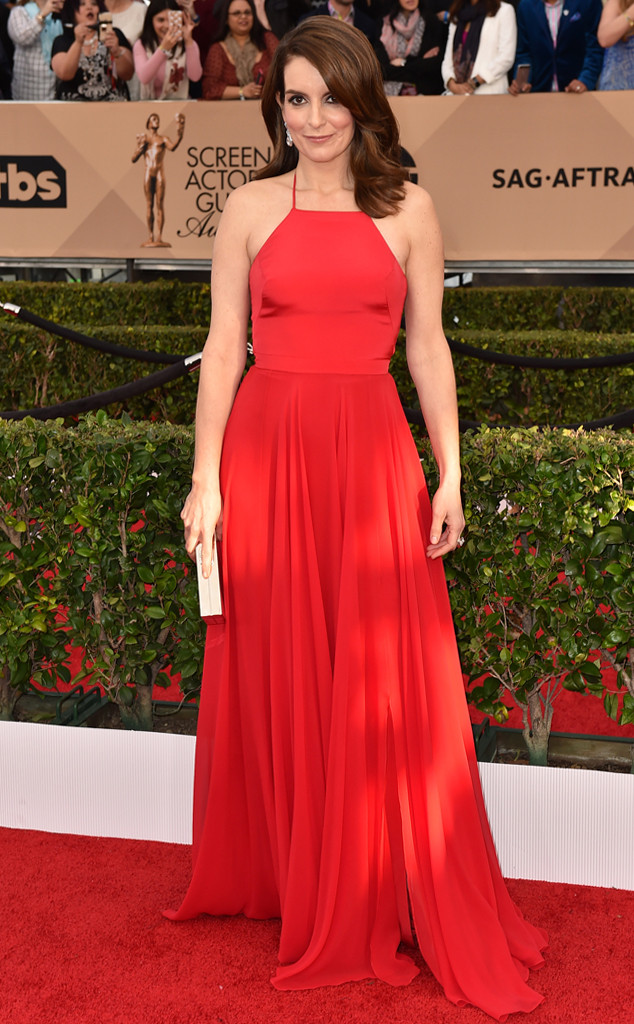 Tina Fey, SAG Awards 2016, Arrivals