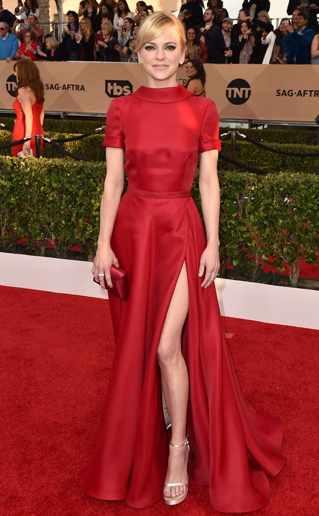 Anna Faris, SAG Awards 2016, Arrivals
