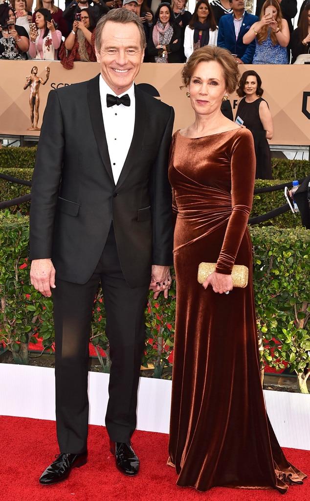 Bryan Cranston, Robin Dearden, SAG Awards 2016, Couples