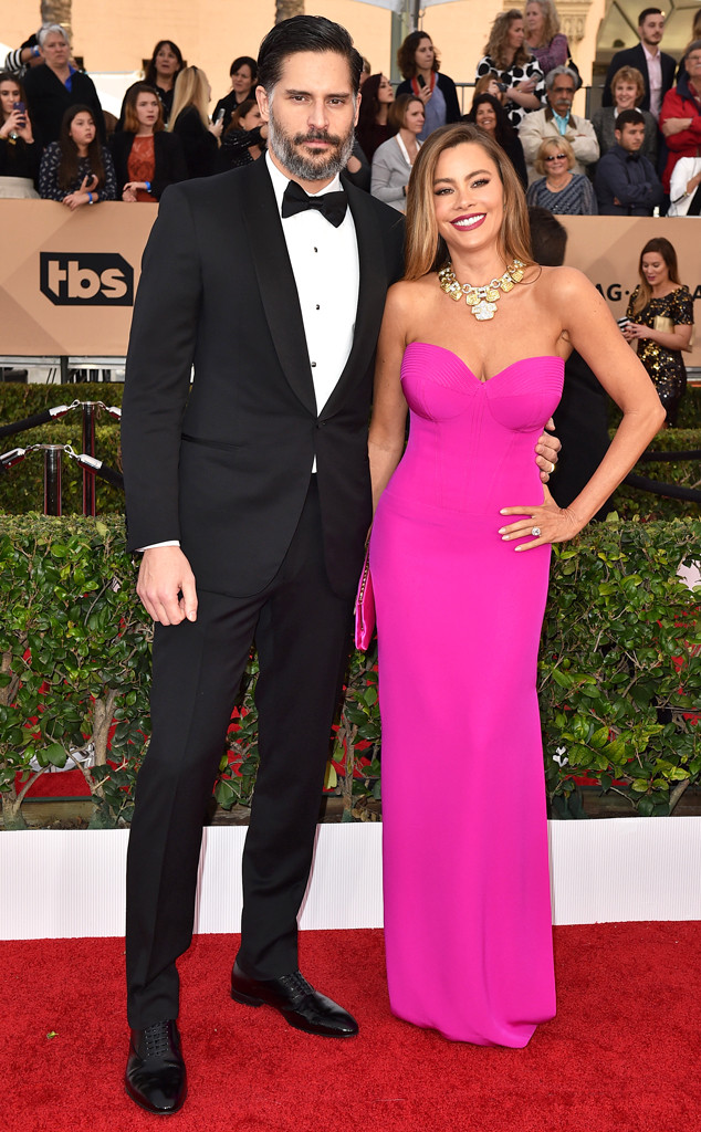 Joe Manganiello, Sofia Vergara, SAG Awards 2016, Couples