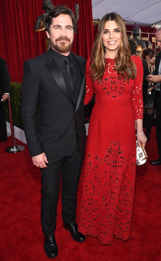 Christian Bale, Sibi Blazic, SAG Awards 2016, Couples