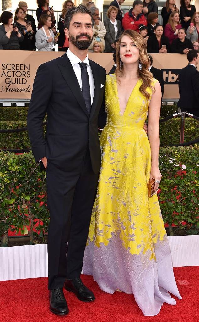 Hamish Linklater, Lily Rabe , SAG Awards 2016, Couples