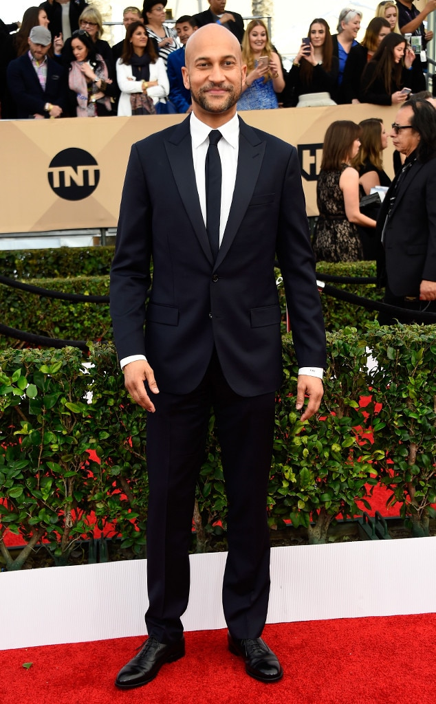 Keegan-Michael Key, SAG Awards 2016, Arrivals