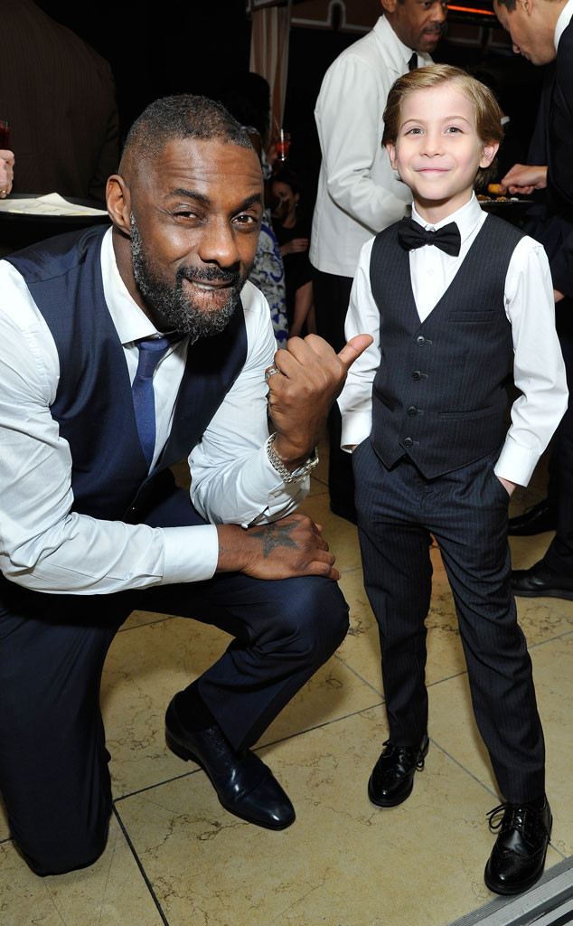 Idris Elba, Jacob Tremblay, SAG Awards 2016, Party Pics