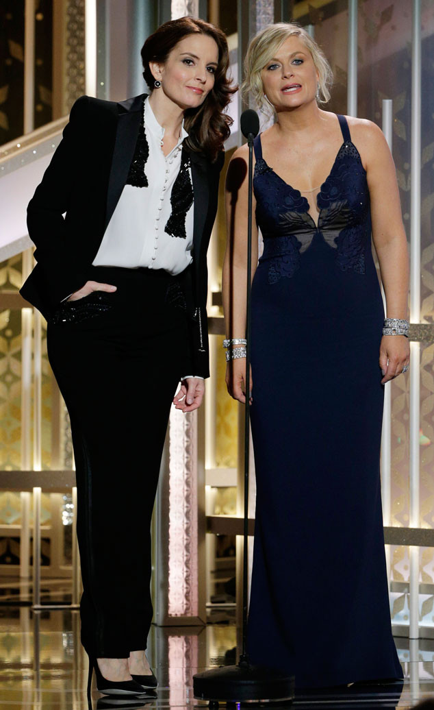 Tina Fey, Amy Poehler, Golden Globes, Memorable Moments, 2015