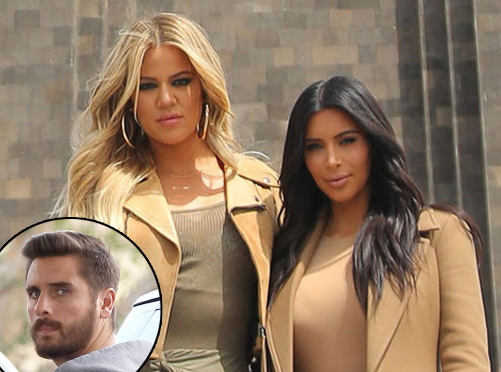 Kim  Khloe Kardashian Are Pissed Off About Scott Disicks New Gf  E News-6153