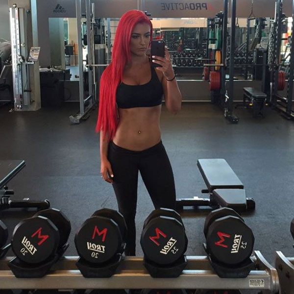 eva marie diet and exercise plan
