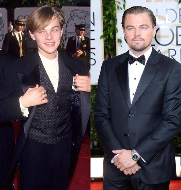 Leonardo DiCaprio, Golden Globes, 1994, 2014