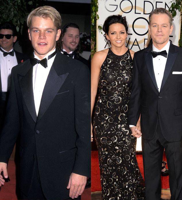 Matt Damon, Golden Globes, 1998, 2014