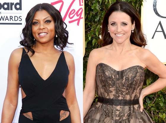 Julia Louis-Dreyfus, Golden Globes 2013, Taraji P. Henson, Billboard Awards 2015
