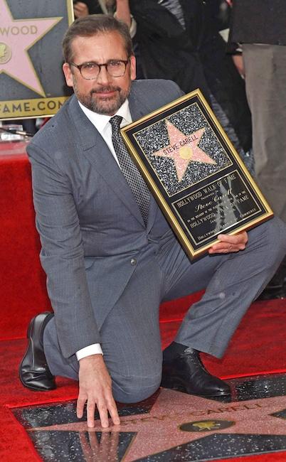 Steve Carell, Hollywood Walk of Fame Star