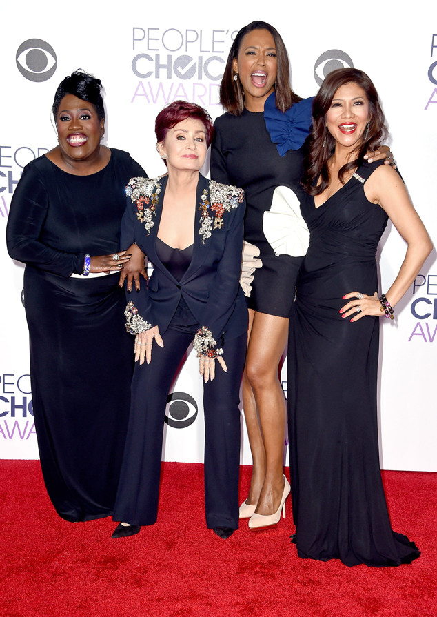 Sheryl Underwood, Sharon Osbourne, Aisha Tyler, Julie Chen, Peoples Choice Awards