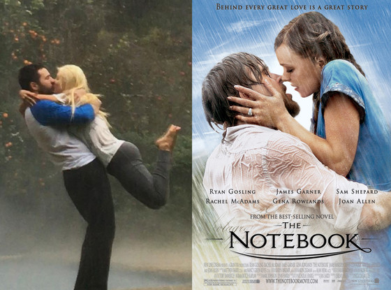 The Notebook, Christina Aguilera