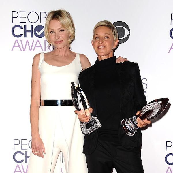 Portia De Rossi & Ellen DeGeneres From 2016 People's