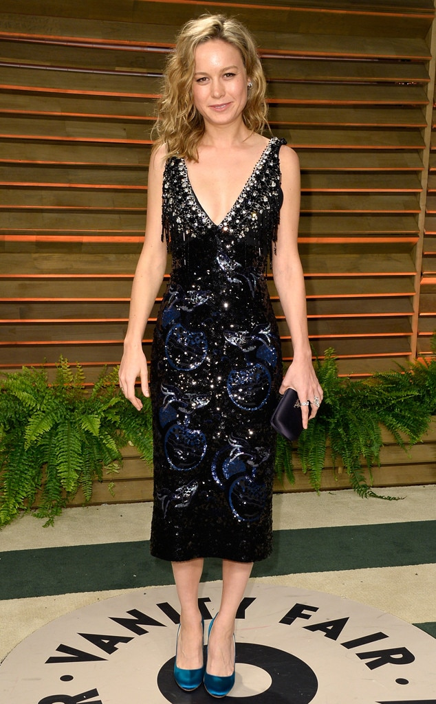 Bedazzled Brie -  Brie looked chic in Miu Miu at the2014  Vanity Fair  Oscars Party.