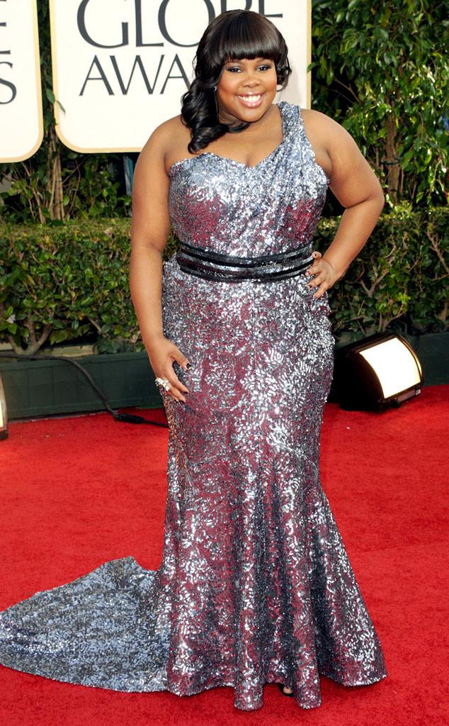 Amber Riley, Golden Globes, 2011