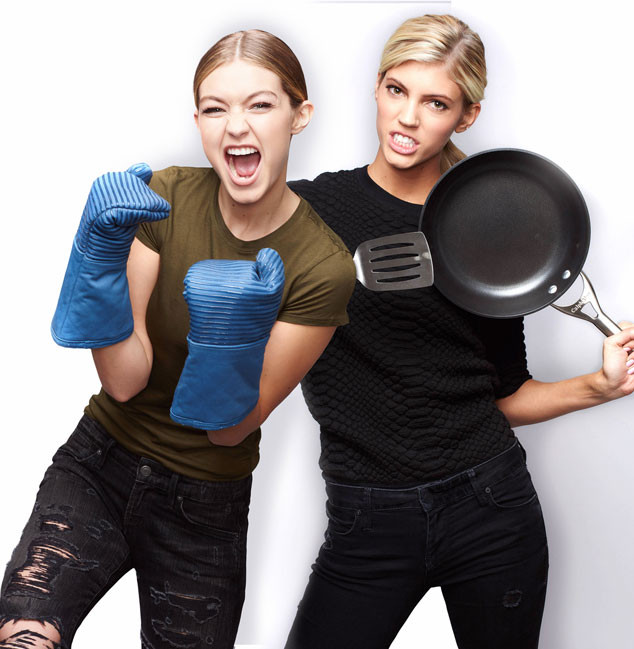 Gigi Hadid, Devon Winsor, MASTERCHEF Celebrity Showdown